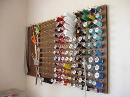 53 best Craft room images on Pinterest | Great ideas, Creative ... & DIY pegboard, dowel rod pegs Adamdwight.com