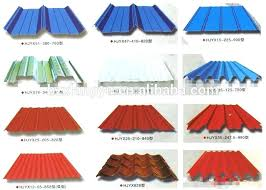 diffe types of metal roofing material building galvanized corrugated sheets steel suppliers in china canada d