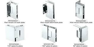 shower door hinge brilliant series glass shower door hinges glass door hinges incredible petite series shower