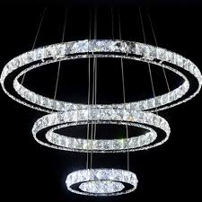 lighting endearing modern crystal chandelier 9