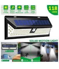 outdoor yard lights 1000lm 118 led