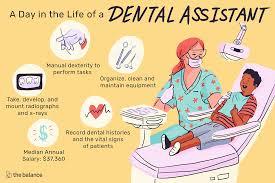 Dental Assistant Job Description Salary Skills More