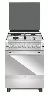 Maxi Products :: Maxi Gas Cooker :: MAXI Gas Cooker 60*60 (3+1) INOX PLUS