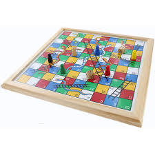 Wooden Board Games Uk Snakes And Ladders Board Game Buy Board Games at The Works 67