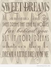 Sweet Dream Quote Best of Quote Sweet Dreams