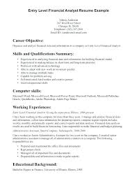 Sample General Objective For Resume Example Of Objective In A Resume Radame Brianstern Co