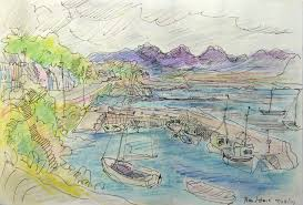 Sketch Ireland with Avis Fleming - The Art League