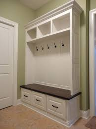 Hallway Bench Coat Rack Open Cubby Storage Best Hall Bench With Storage Ideas On Entryway 88