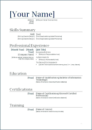 Formatting A Resume In Word Unique Download Format For Resume Download Resume Templates Word Nurses