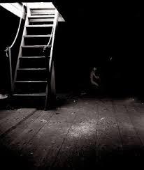 creepy basement stairs. Creepy Basement Stairs E