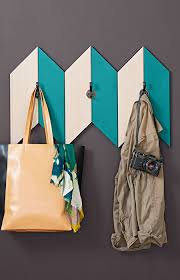 Creative Ideas For Coat Racks Add function and fashion to an entry with a chevroninspired coat 79