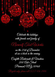 Invitation For Office Christmas Party