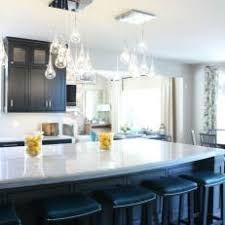 pendant lighting for kitchen island. Transitional Open Kitchen With Glass Pendant Lights Pendant Lighting For Kitchen Island