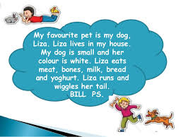 my favourite pet my favourite pet is my dog