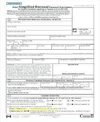 Passport Renewal Application Form Best Us Passport Forms For Minors Us Minor Passport Renewal Sample