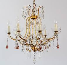 coloured glass chandelier drops designs