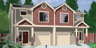 d 599 duplex house plans 2 story duplex plans 3 bedroom duplex plans