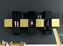 Black wall storage cabinet Wayfair Wall Storage Unit Contemporary Wall Cabinets Contemporary High Gloss Gold And Black Wall Storage Unit Thumbnail Modern Wall Mounted Bestbackpackingtentinfo Wall Storage Unit Contemporary Wall Cabinets Contemporary High Gloss