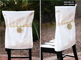 Xmas Chair Covers | Diy Decoration Picture Ideas For December Christmas