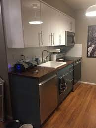 Ikea Kallarp And Ringhult Contemporary Kitchen New York By Basic Builders Inc Houzz