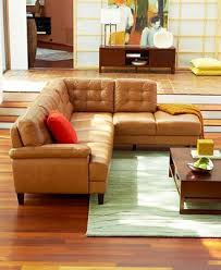 extraordinary camel color leather sofa