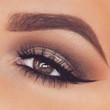 how to do cute eye makeup for brown eyes