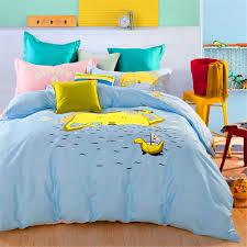 sunrise children bedding no quilt 100 cotton queen full size kids cartoon duvet cover sets