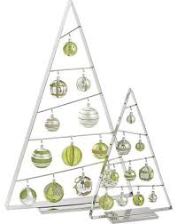 large ornament tree in decorating crate and barrel
