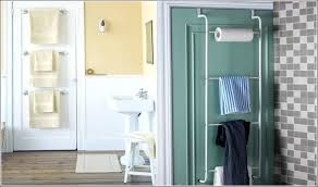Over The Door Towel Rack Ideas Home Decor With Behind The Over The