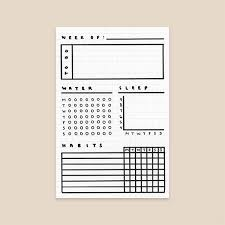 Journal Templates 3 Simple Bullet Journal Templates Evermore Paper Co