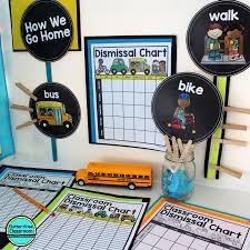 Dismissal Chart Elementary School Dismissal Procedures Ideas And Resources