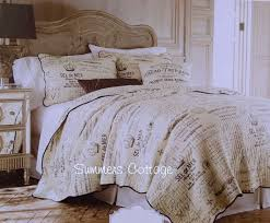 186 best Home: Bedroom: Linens {quilts, comforters & matching ... & FRENCH COUNTRY FARMHOUSE SCRIPT POSTCARD VINTAGE PARIS COTTAGE BEDDING  (King or Queen) Adamdwight.com