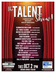 Talent Show Flyer Design United Way Of Monroe County Talent Show Lifedesigns
