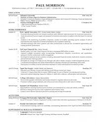 Sample Resume For College Student Recentresumes Com