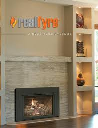 d1 30 real fyre direct vent gas fireplace insert by r h peterson who makes the best direct vent gas fireplace insert