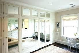 bifold mirror mirrored closet doors bifold mirror door handles bifold mirror