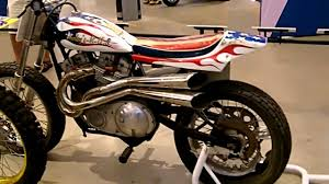 harley davidson xr750 flat tracker youtube