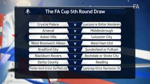The draws for the fourth and fifth round of the fa cup will take place from 7:10pm gmt on monday. The Fa Cup Fifth Round Draw Has Been Made Balls Ie