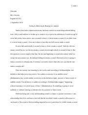 Mla Citation Essay Mla Citations Study Resources