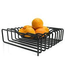 black  blum fruit loop bowl  contemporary fruit bowls