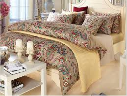 enchanting paisley comforters and duvets with bed pillowcase also window treatments and nightstand