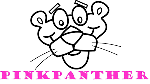 Small Picture How To Draw and Color Pink Panther Coloring Pages for Kids YouTube