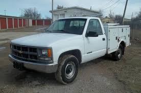 Buy used Service Truck Utility Bed Fiberglass Body Gas Auto Cargo ...