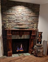 86 most awesome stone overlay for brick fireplace refacing brick fireplace with stone fireplace hearth stone veneer stacked stone fireplace surround stone