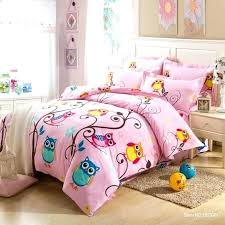 owl bedroom set kids bedding sets comforter for s owl sheets little girls bedding