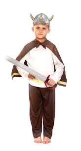 sentinel viking helmet kids fancy dress saxon warrior childs book costume outfit