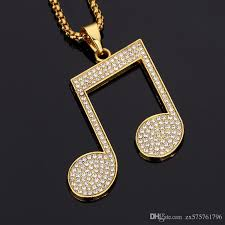 whole new design male big pendants necklaces pieces rhinestone 18k gold filled chains filling pieces mens necklace fashion costume jewelry costume
