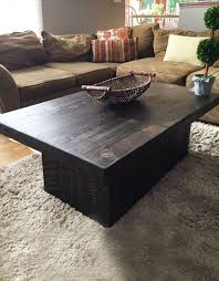 modern reclaimed barn wood coffee table
