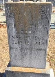 Edith Matilda Wade Cook (1866-1943) - Find A Grave Memorial