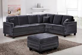 gray velvet sectional. Delighful Sectional With Gray Velvet Sectional A